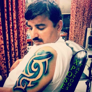 Temporary-tribal-Tattoo-by-Xpose-Tattoos-Jaipur-India