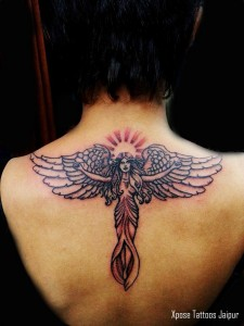 Angel Tattoo by Xpose Tattoo Jaipur India