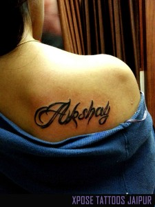 Name-tattoo-by-Xpose-Tattoo-Jaipur-India