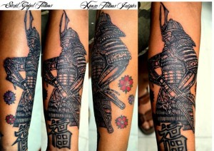 Samurai Tattoo By Xpose Tattoos Jaipur India