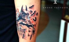 Batman tattoo by Xpose Tattoos Jaipur
