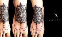 Mandala Tattoo Art by Xpose tattoos Jaipur India