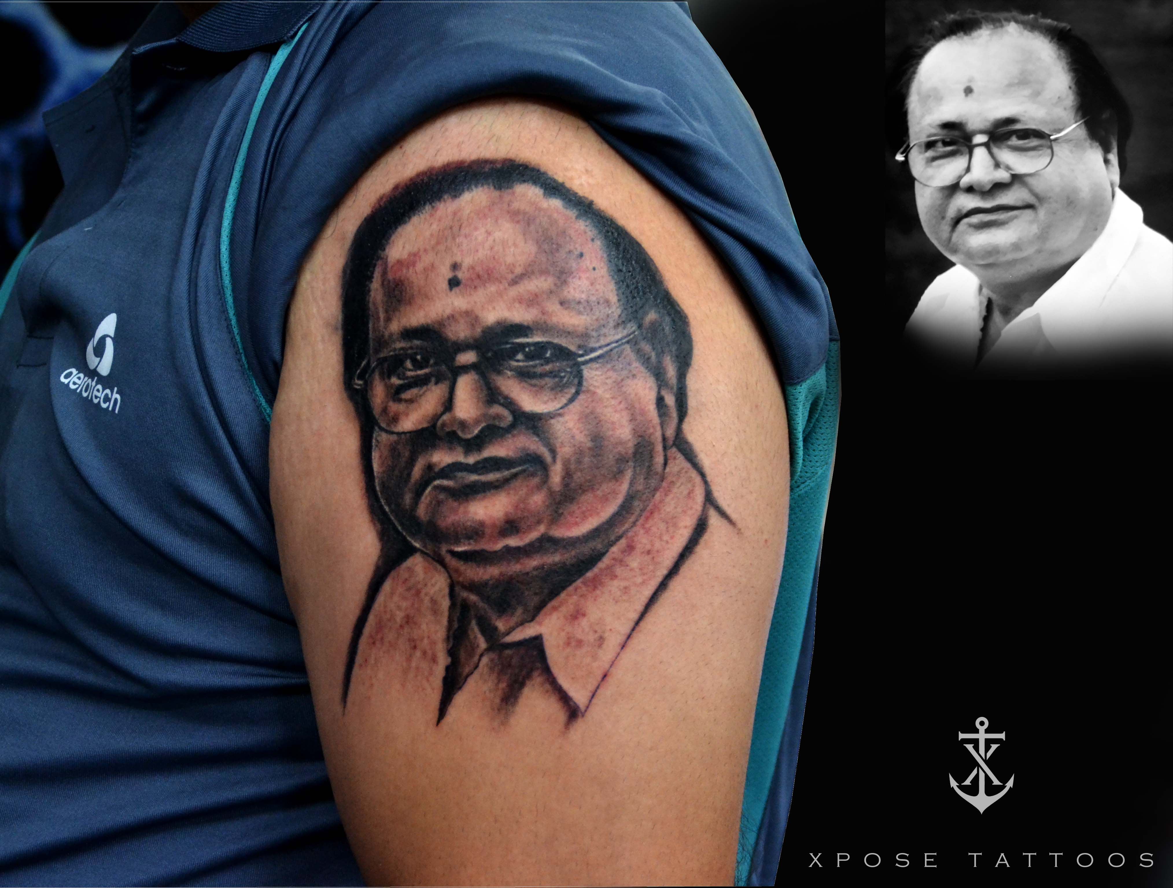 portrait tattoo in Jaipur