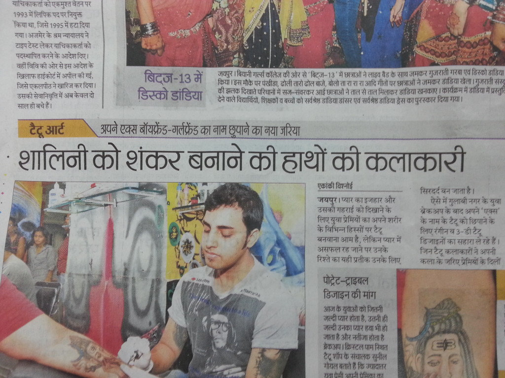 Xpose Tattoos Jaipur In Media