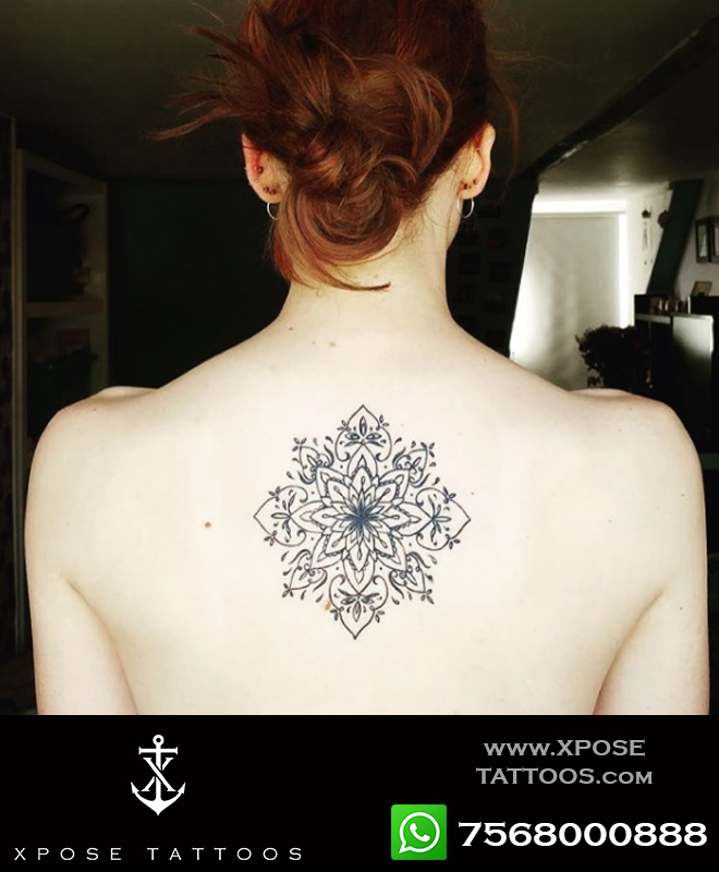 mandala tattoo by xpose tattoos jaipur
